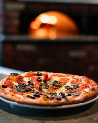 Wood Fire Oven Pizza in Sacramento
