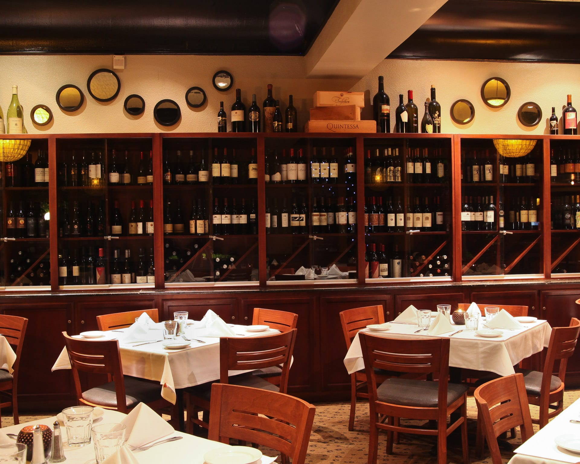 Private Dining - The Wine Room